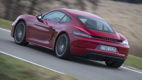 Porsche 718 Cayman GTS,  Exterieur