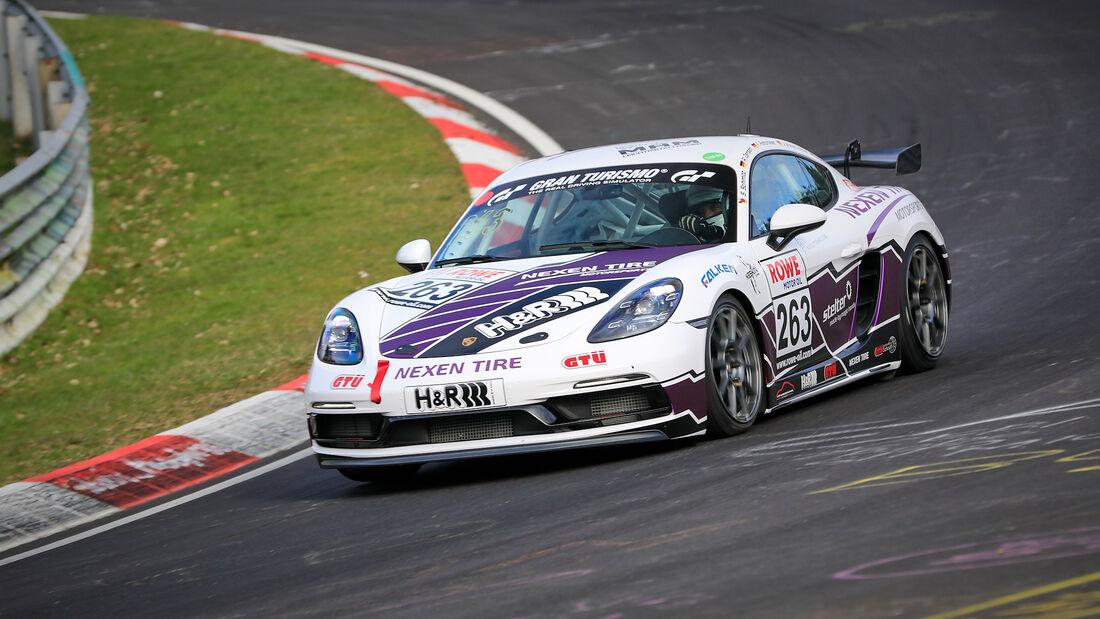 Porsche 718 Cayman GTS - Startnummer #263 - SP4T+SP8T - NLS 2021 - Langstreckenmeisterschaft - Nürburgring - Nordschleife
