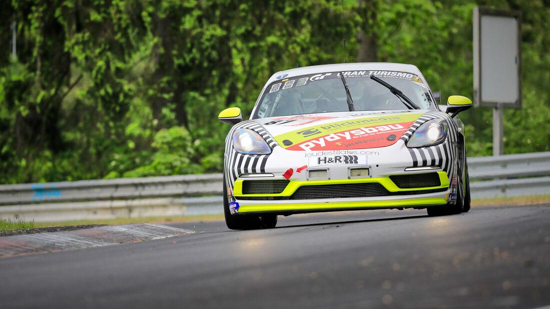 Porsche 718 Cayman GTS - Startnummer #87 - Klasse: SP 4T - 24h-Rennen - Nürburgring - Nordschleife - 03. - 06. Juni 2021