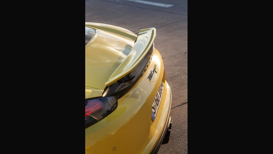 Porsche 718 Cayman, Heck