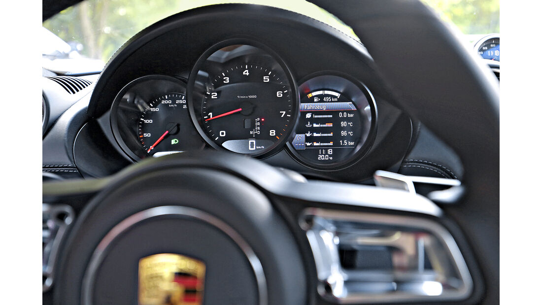 Porsche 718 Cayman PDK, Interieur