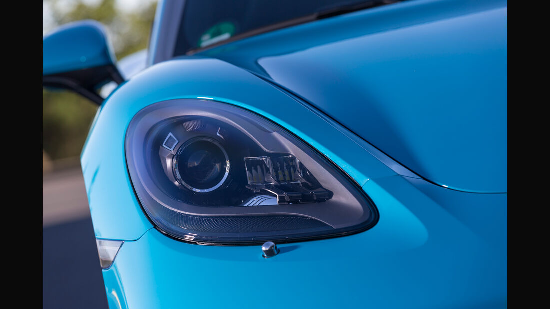 Porsche 718 Cayman S, Frontscheinwerfer