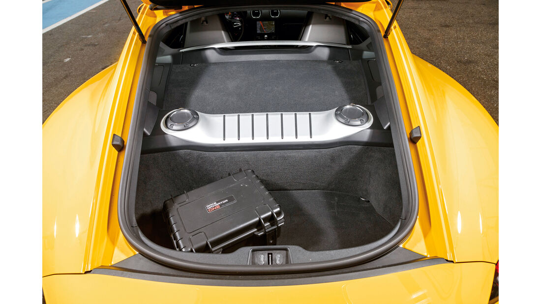 Porsche 718 Cayman S, Kofferraum