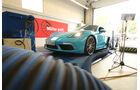 Porsche 718 Cayman S, Prüfstand