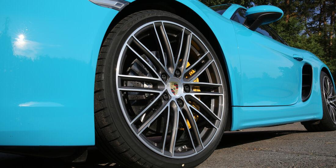 Porsche 718 Cayman S, Rad, Felge