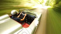 Porsche 718 RS 60, Fahrersicht