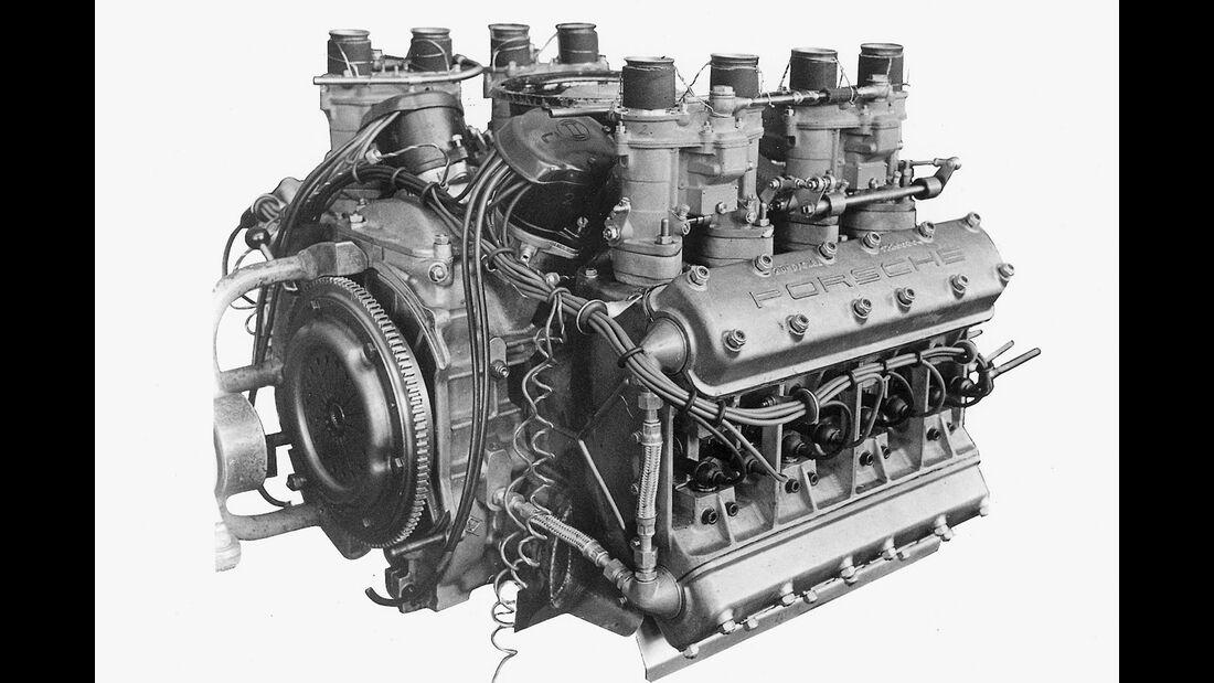 Porsche 804 - Achtzylinder-Boxermotor