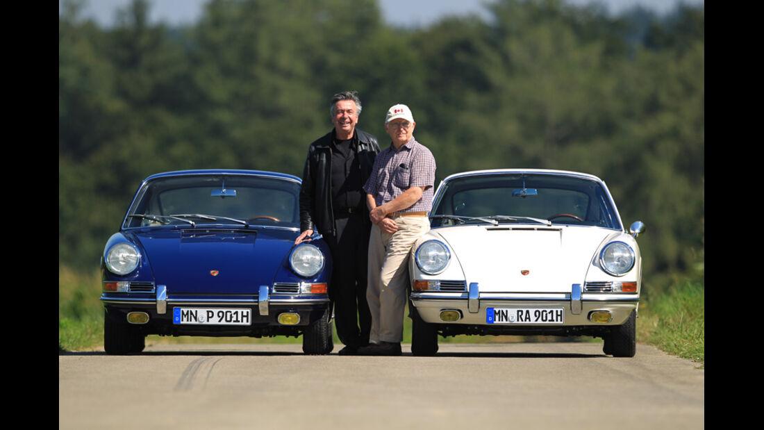 Porsche 901, Blau-Weiß-Vergleich, Alois Ruf, Sorjo Renta