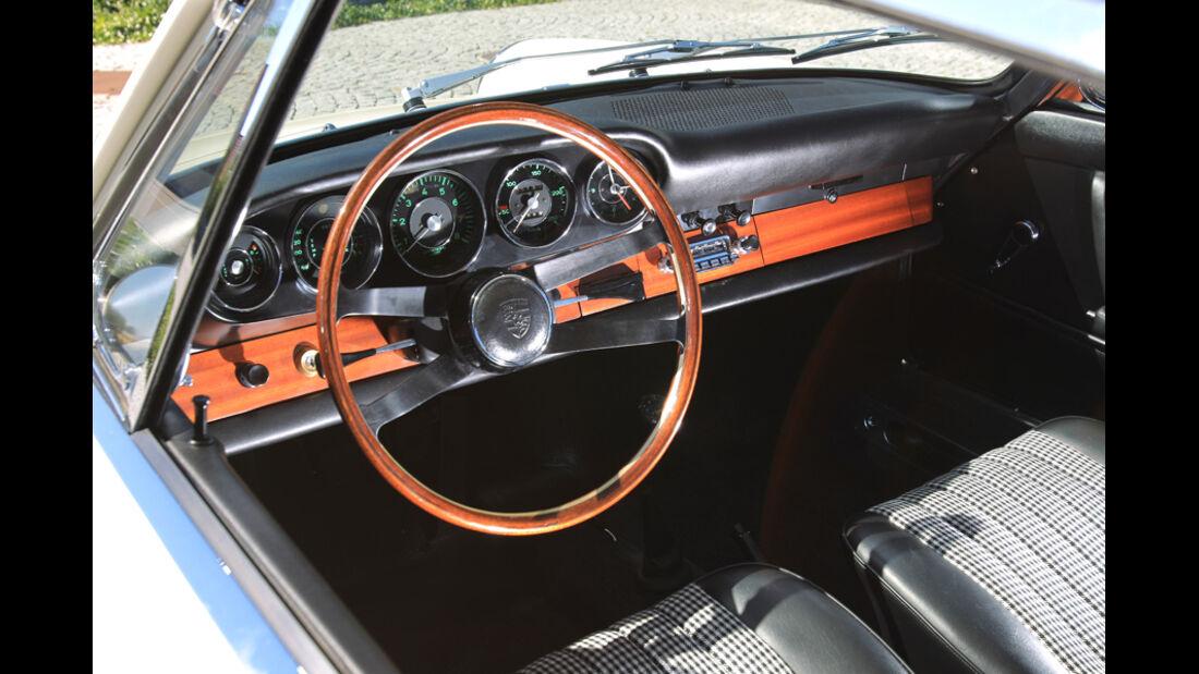 Porsche 901, Cockpit, Detail