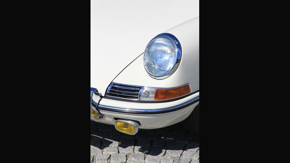 Porsche 901, Frontlicht, Detail