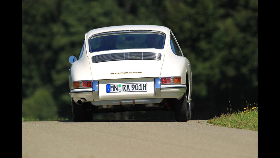 Porsche 901, Heck