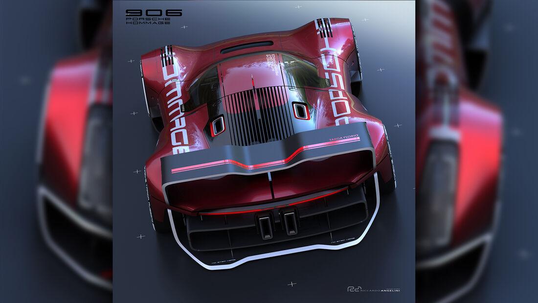 Porsche 906 Hommage Design Concept Render