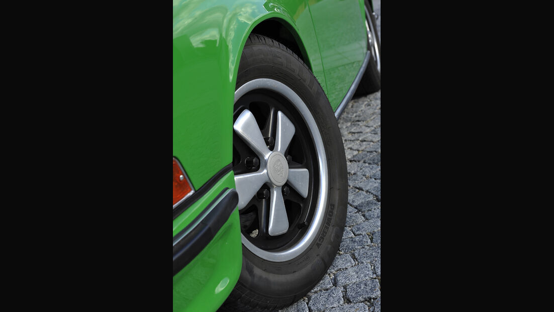 Porsche 911 2.4 Targa, Felge, Vorderrad