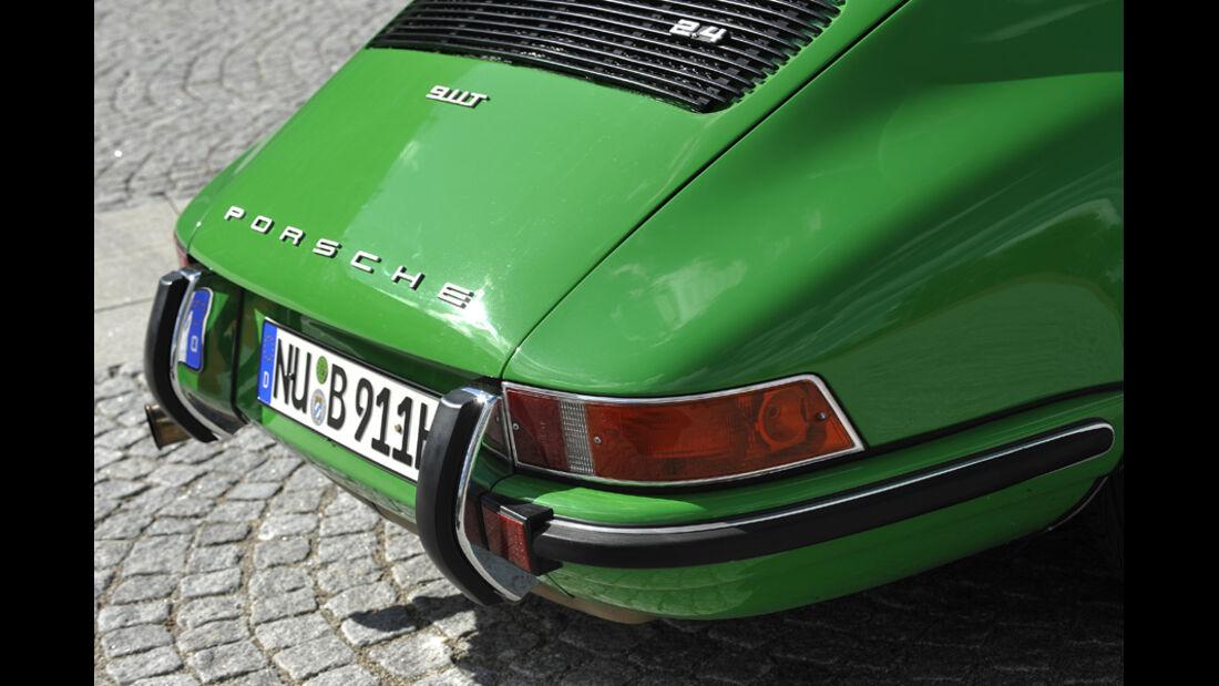 Porsche 911 2.4 Targa, Heck