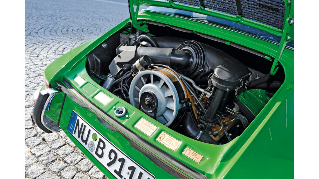 Porsche 911 2.4 Targa, Motor