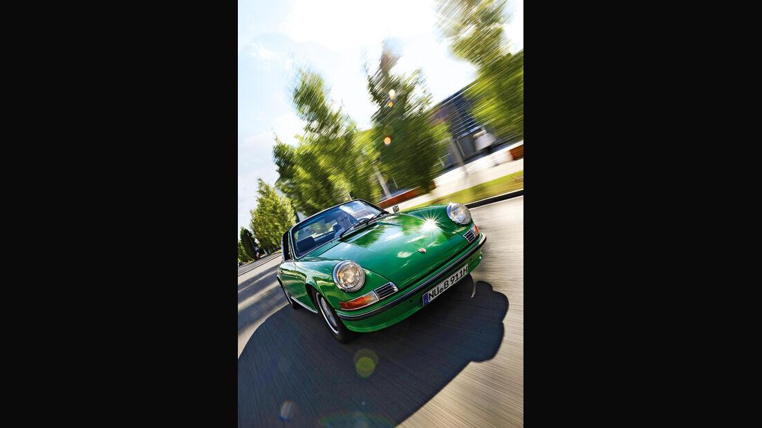 Porsche 911 2.4 Targa, Motorhaube