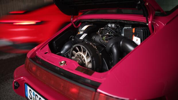 Porsche 911 (964) Carrera RS, Motor