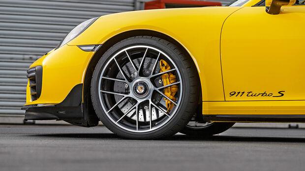 Porsche 911 991.2 Turbo S, Rad, Felge, Reifen, Bremse, Keramikbremse