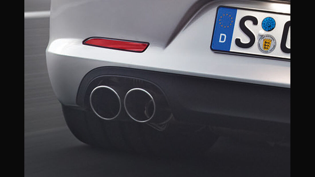 Porsche 911 (991) Auspuff