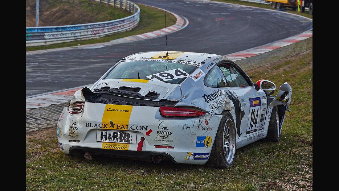 Porsche 911 (991) Carrera - Black Falcon - VLN - Nürburgring Nordschleife - 29. März 2014