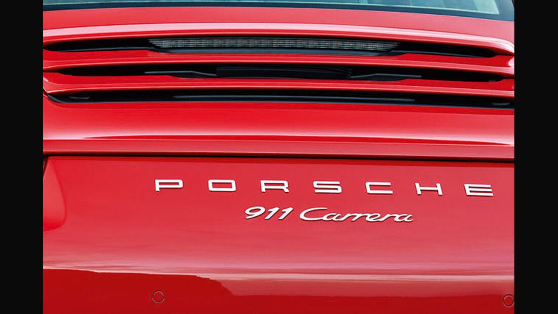 Porsche 911 (991) Schriftzug