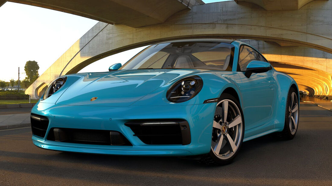 Porsche 911 (992) Carrera S Exclusive Manufaktur 2019