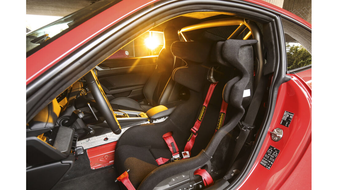 Porsche 911 (992) Carrera S, Interieur