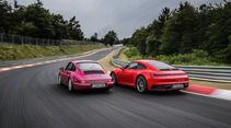 Porsche 911 (992) Carrera S, Porsche 911 (964) Exterieur