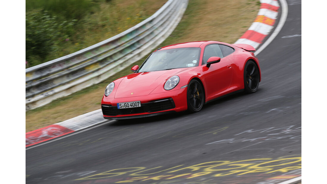 Porsche 911 (992) Carrera S - Sportwagen - Nürburgring - Nordschleife - Supertest