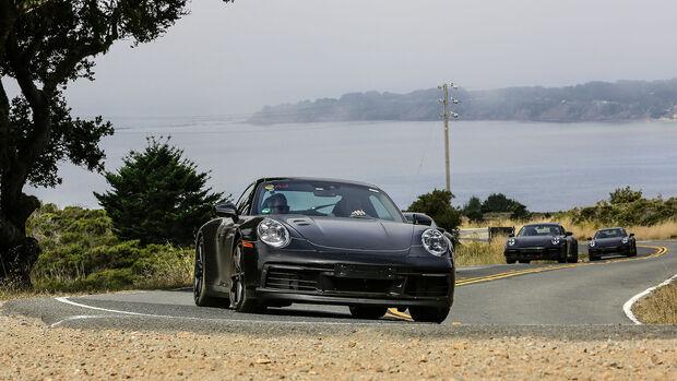Porsche 911 (992) Erlkönig Erprobung