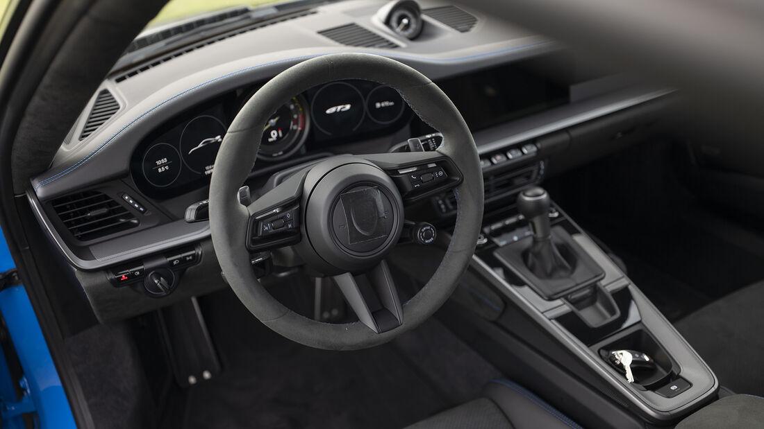 Porsche 911 (992) GT3, Interieur