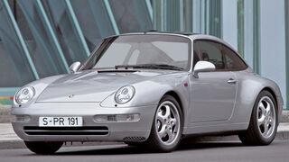 Porsche 911 993, Frontansicht