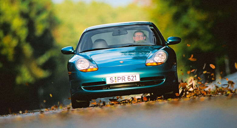 Porsche 911 (996), Frontansicht