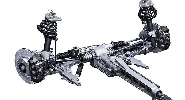Porsche 911, Antrieb Vorderachsgetriebe