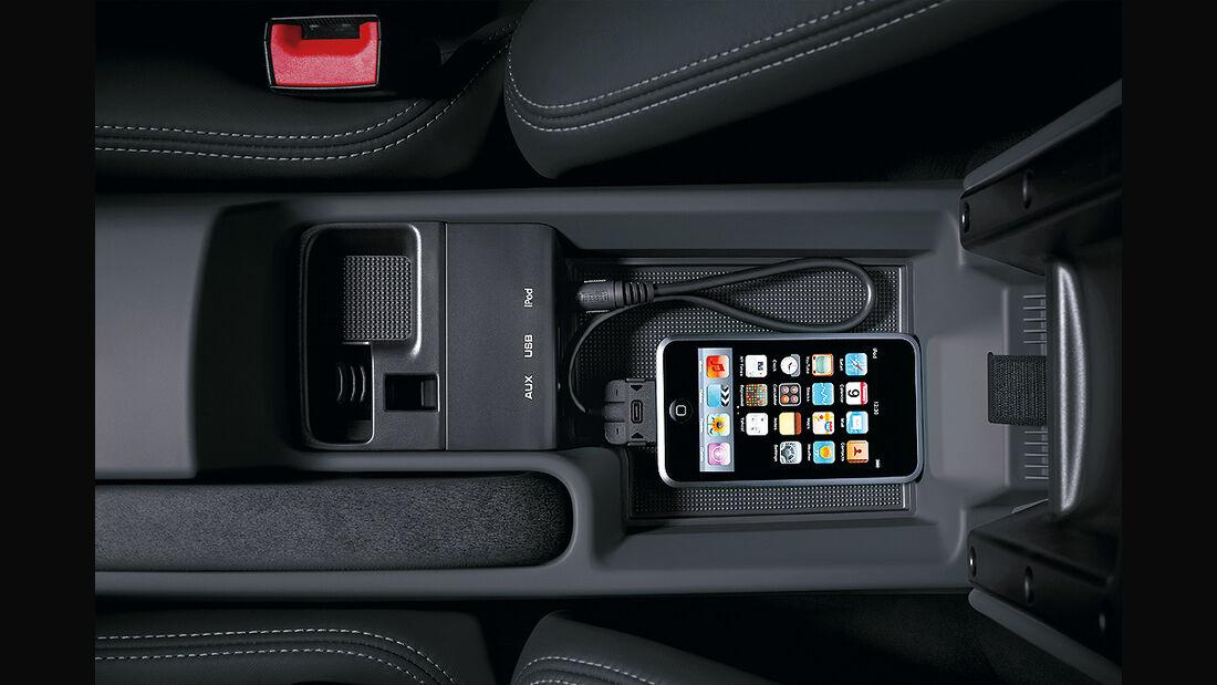 Porsche 911, Audio-Schnittstelle