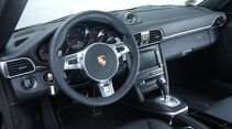 Porsche 911 Black Edition, Cockpit, Lenkrad
