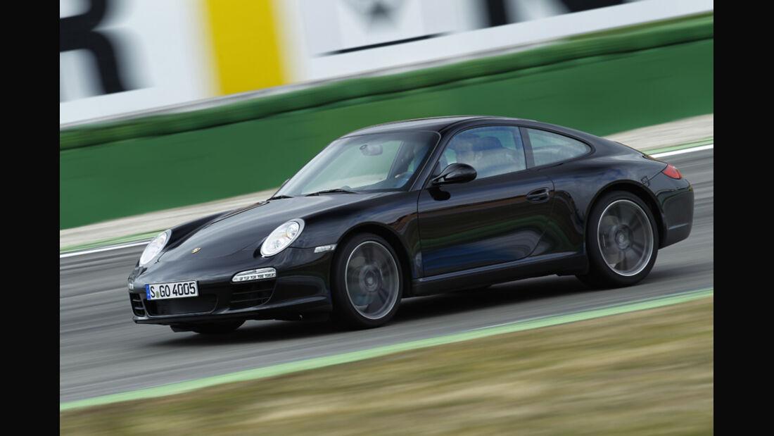 Porsche 911 Black Edition, Seitenansicht