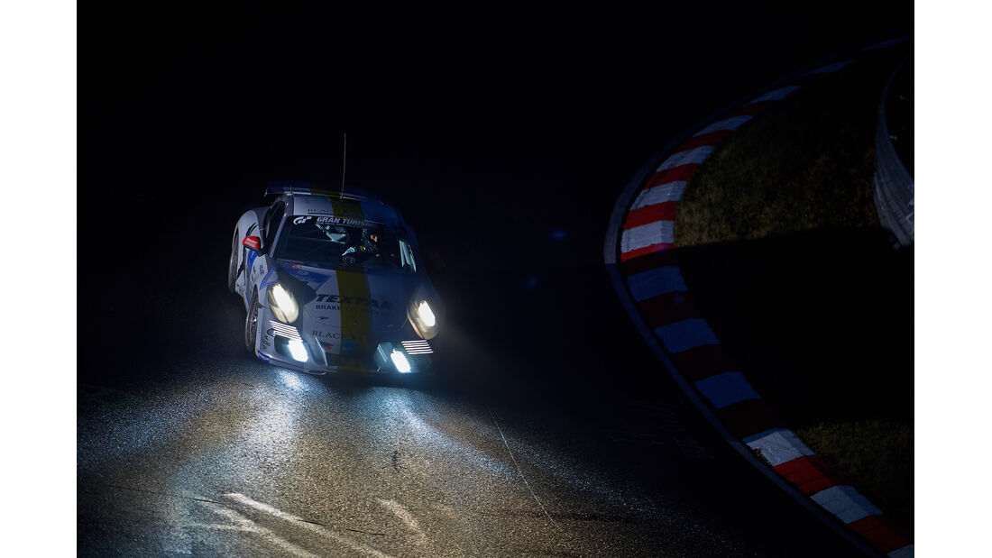 Porsche 911 - Black Falcon - 24h-Rennen Nürburgring 2014 -  Qualifikation 1