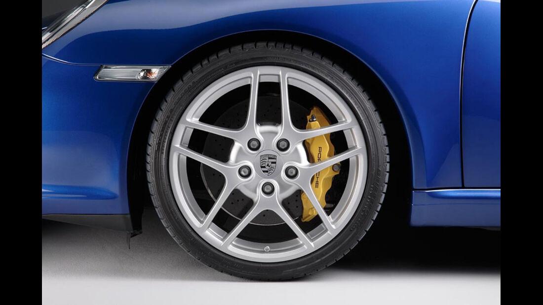 Porsche 911, Bremse-Ceramic-Composite-Brake, Keramikbremse