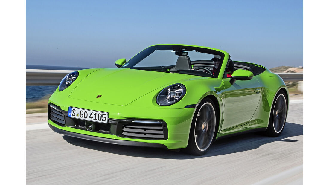 Porsche 911 Cabrio, Best Cars 2020, Kategorie H Cabrios
