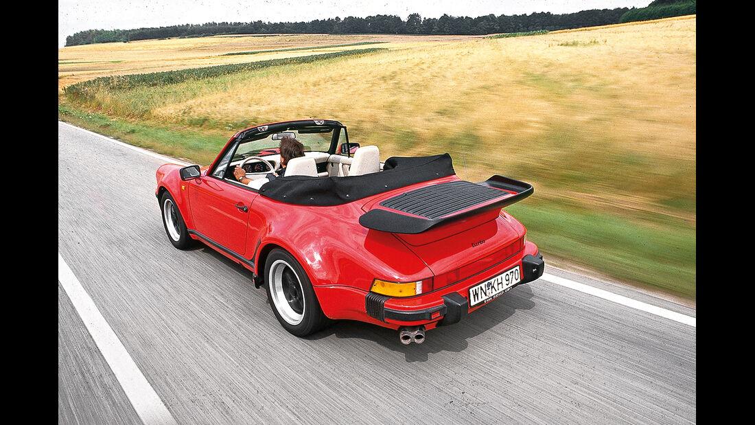 Porsche 911 Cabrio G-Modell, Heckansicht