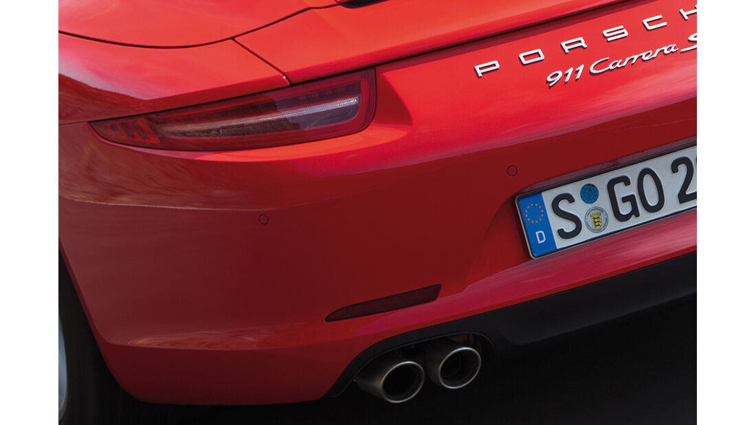 Porsche 911 Cabrio, Heck, Rücklicht