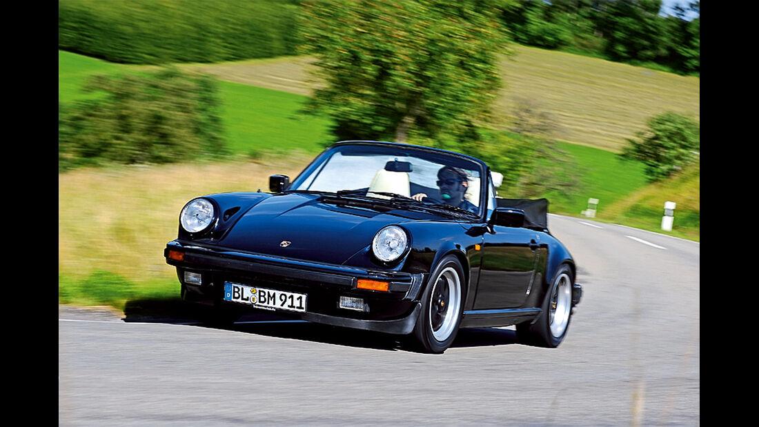 Porsche 911 Cabriolet, Frontansicht