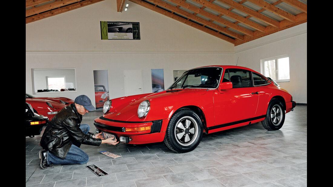 Porsche 911 California, Seitenansicht