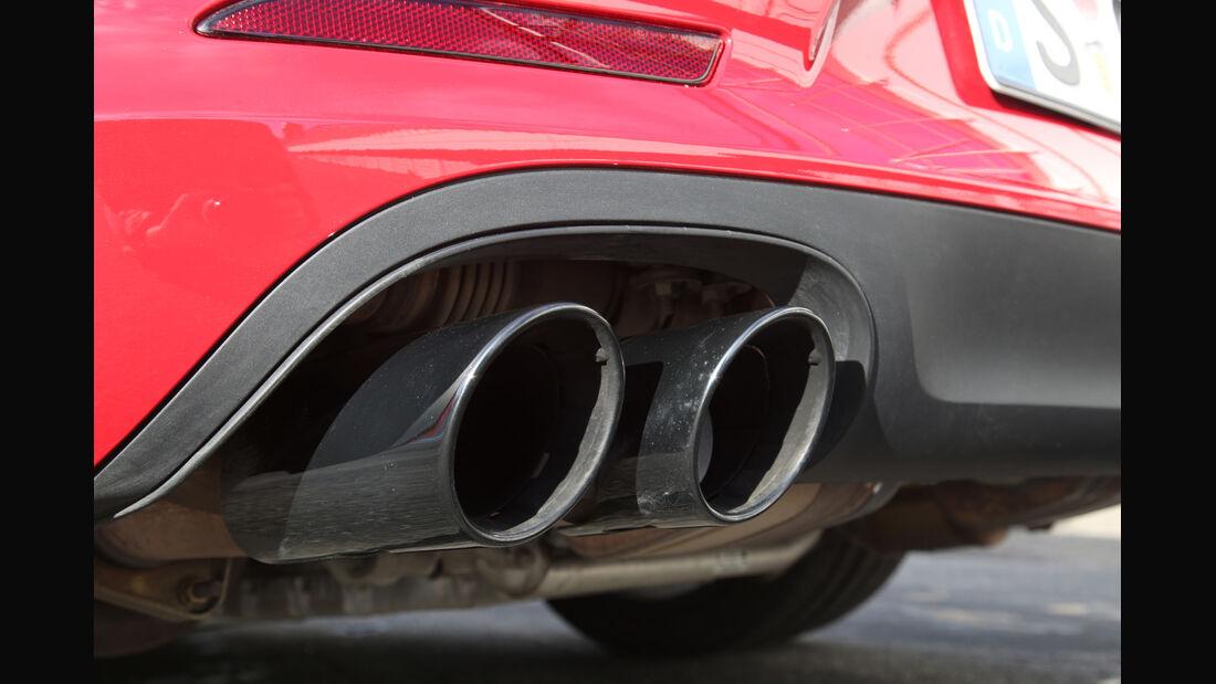 Porsche 911 Carerra GTS, Endrohre