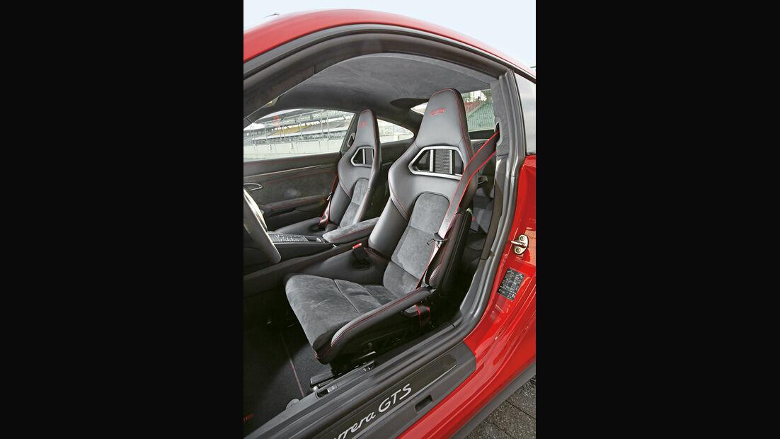 Porsche 911 Carerra GTS, Fahrersitz