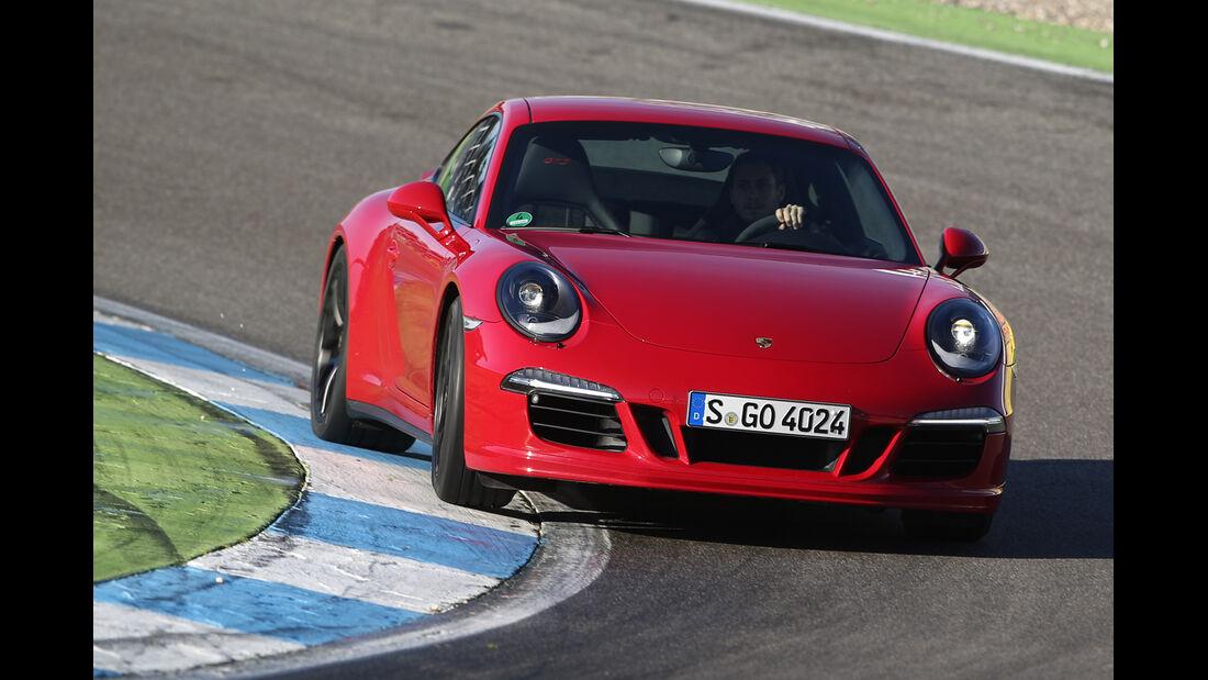 Porsche 911 Carerra GTS, Frontansicht
