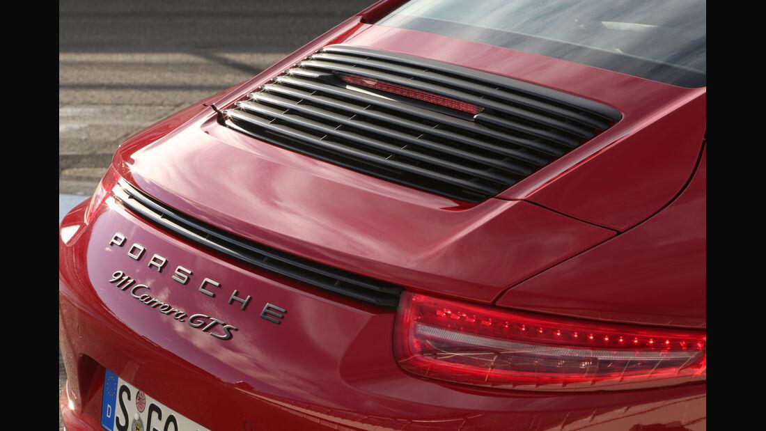 Porsche 911 Carerra GTS, Heck