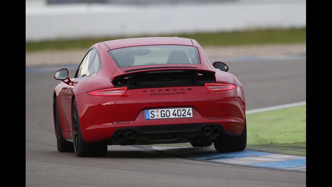 Porsche 911 Carerra GTS, Heckansicht