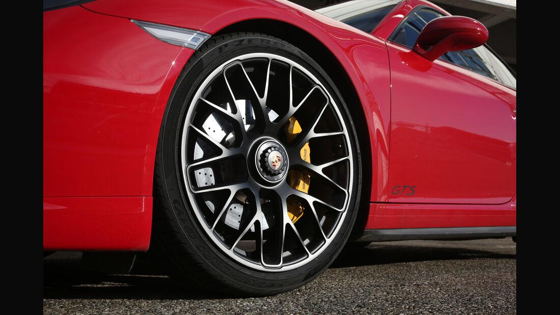 Porsche 911 Carerra GTS, Rad, Felge